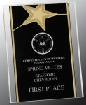 Gold Star Acrylic Stand-Up Achievement Awards