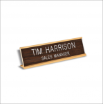 Traditional Desk Name Plate Desk Name Plates