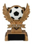 Victory Wing Resin Figure -Soccer  Multi-Activity Mylar Resin Trophy Awards